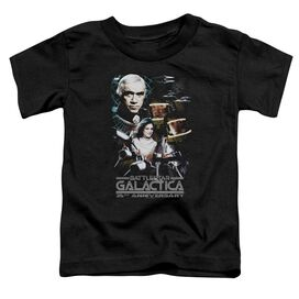 Bsg 35 Th Anniversary Collage Short Sleeve Toddler Tee Black T-Shirt