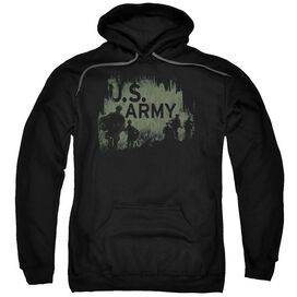 Army Soldiers Adult Pull Over Hoodie