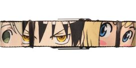 Soul Eater Close Faces Seatbelt Belt