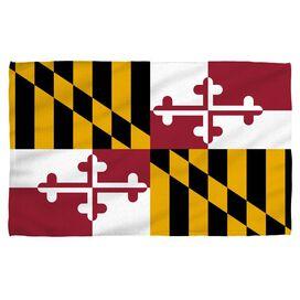Maryland Flag Beach Towel