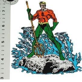 Aquaman Splash Patch