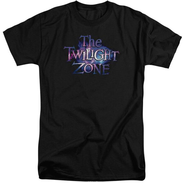 Twilight Zone Twilight Galaxy Short Sleeve Adult Tall T-Shirt