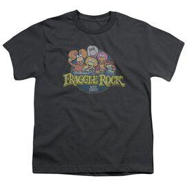 Fraggle Rock Circle Logo Short Sleeve Youth T-Shirt