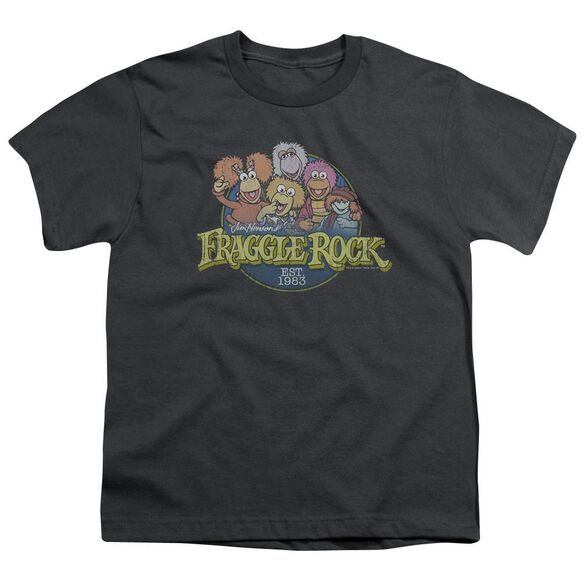 Fraggle Rock Circle Logo Short Sleeve Youth T-Shirt