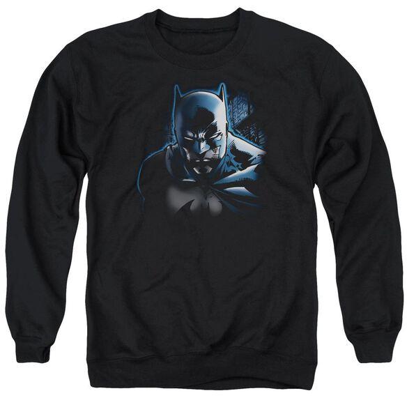Batman Don'T Mess With The Bat Adult Crewneck Sweatshirt