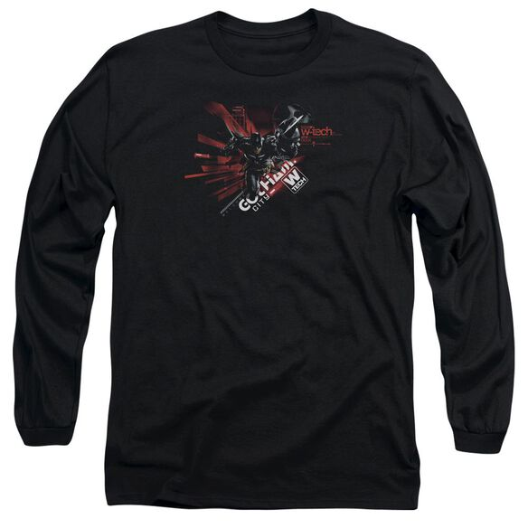 Batman Arkham Knight Ak Tech Long Sleeve Adult T-Shirt