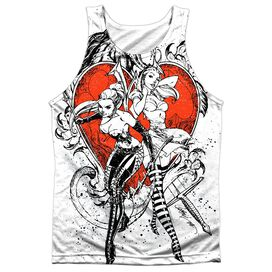 Zenoscope Bw Heart Adult Poly Tank Top