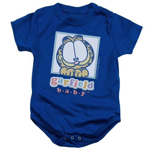 Garfield Baby Garfield Infant Snapsuit Royal Blue Lg