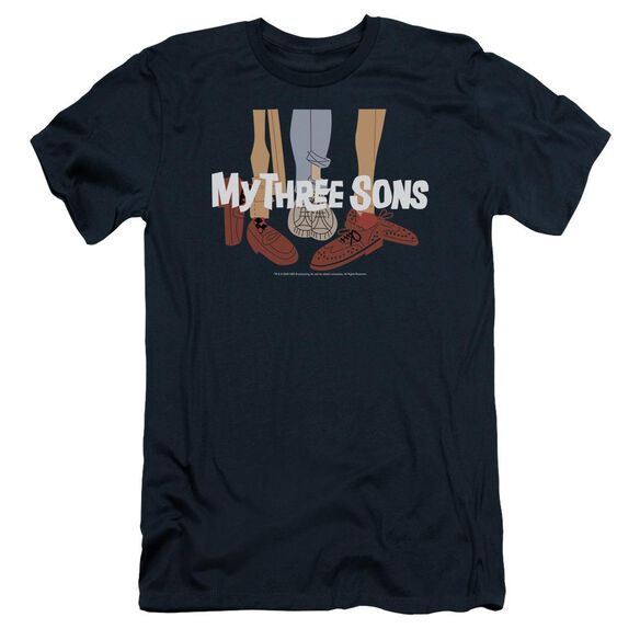 My Three Sons Shoes Logo Short Sleeve Adult T-Shirt