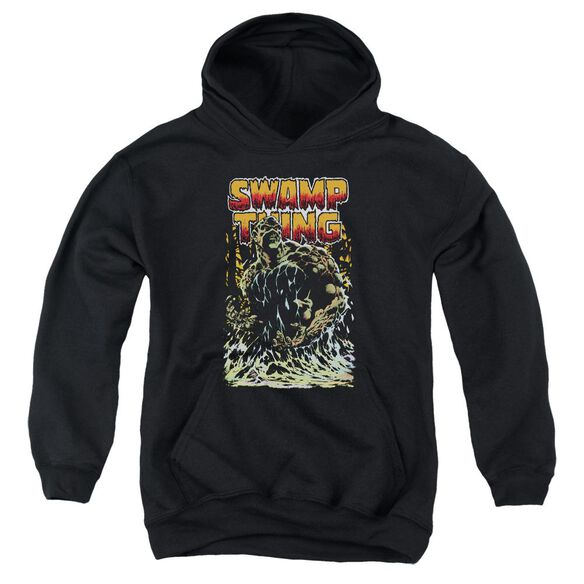 Jla Swamp Thing Youth Pull Over Hoodie