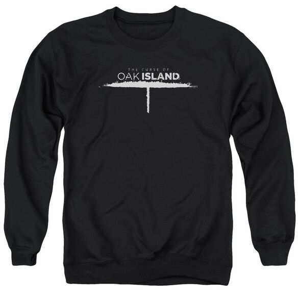 The Curse Of Oak Island Tunnel Logo Adult Crewneck Sweatshirt