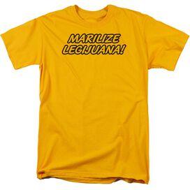Marilize Legijuana Short Sleeve Adult T-Shirt
