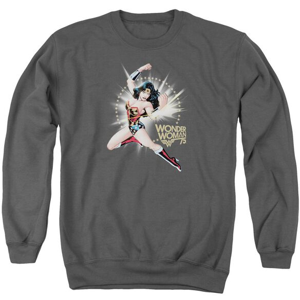 Wonder Woman Ww75 The Bracelets Of Submission Adult Crewneck Sweatshirt