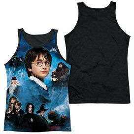 Harry Potter First Year Adult Poly Tank Top Black Back