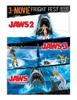 Fright Fest Jaws 3-Movie Collection [Jaws 2, Jaws 3, Jaws The Revenge]