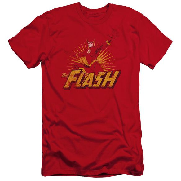 Jla Flash Rough Distress Premuim Canvas Adult Slim Fit