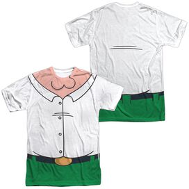 FAMILY GUY PETER COSTUME (FRONT/BACK PRINT)-S/S ADULT T-Shirt