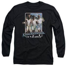 Three Stooges Knucklesheads On Vacation Long Sleeve Adult T-Shirt