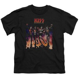 Kiss Destroyer Cover Short Sleeve Youth T-Shirt