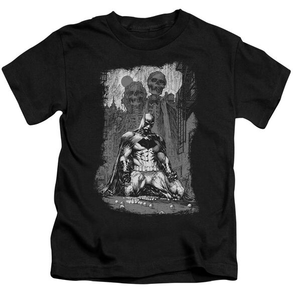 Batman Sketchy Shadows Short Sleeve Juvenile T-Shirt
