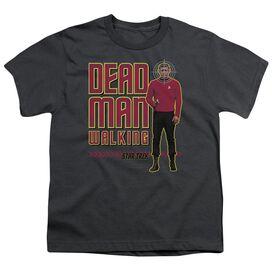 Star Trek Dead Man Walking Short Sleeve Youth T-Shirt