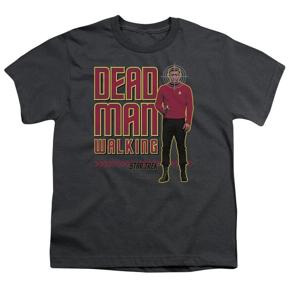 Star Trek Dead Man Walking Short Sleeve Youth T-Shirt