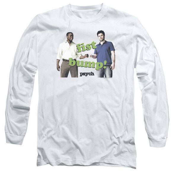 Psych Bump It Long Sleeve Adult T-Shirt