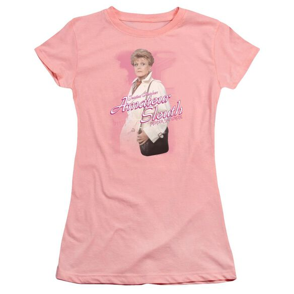 Murder She Wrote Amateur Sleuth Premium Bella Junior Sheer Jersey