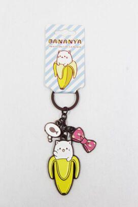 Bananya Charm Keychain
