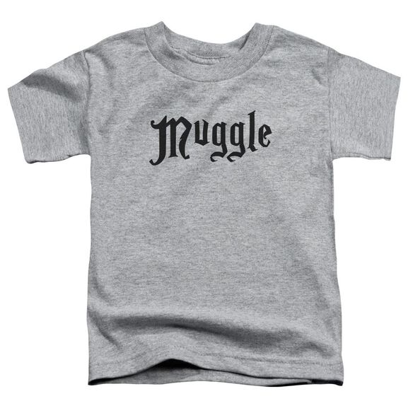 Harry Potter Muggle Short Sleeve Toddler Tee Athletic Heather T-Shirt