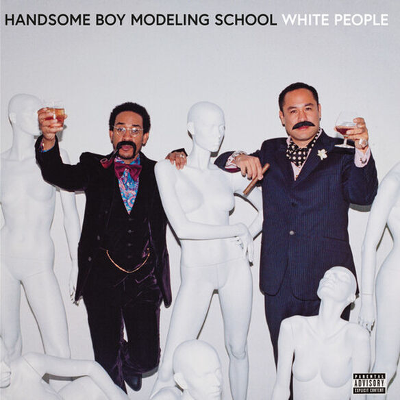Handsome Boy Modeling School - White People (White Opaque Vinyl)