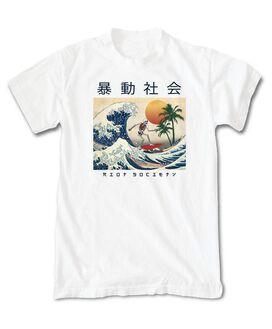 Riot Society - Skeleton Wave Rider T-Shirt