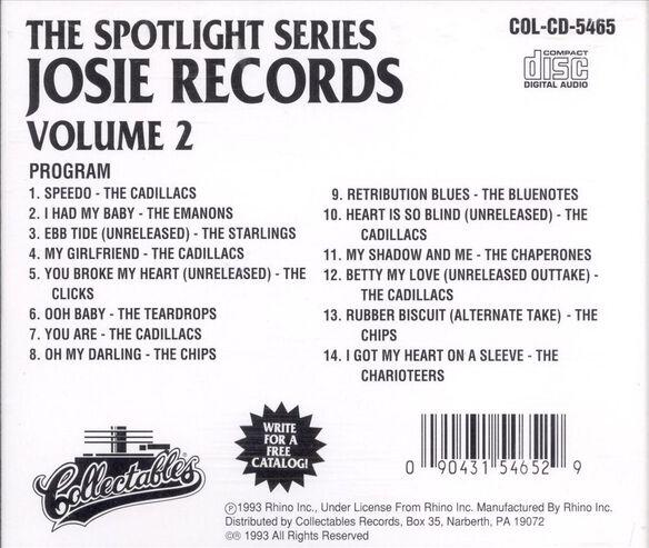 Josie Records Volume 1193