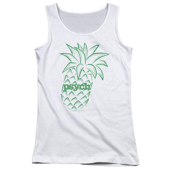 Psych Pineapple Juniors Tank Top