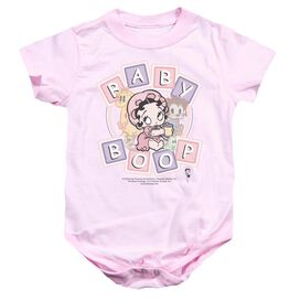 Betty Boop Baby Boop & Friends Infant Snapsuit Pink Sm