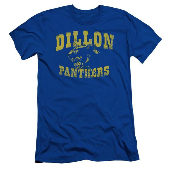 Friday Night Lights Panthers Short Sleeve Adult Royal T-Shirt