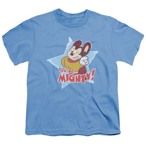 Mighty Mouse You're Mighty Short Sleeve Youth Carolina T-Shirt
