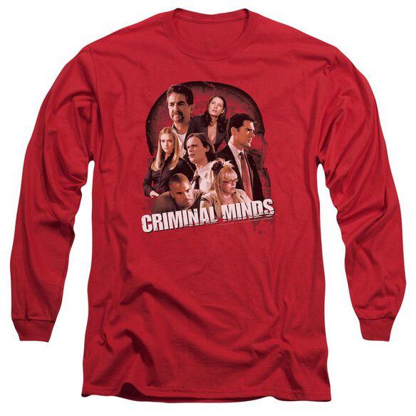 Criminal Minds Brain Trust Long Sleeve Adult T-Shirt