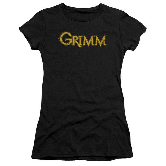 Grimm Gold Logo Short Sleeve Junior Sheer T-Shirt
