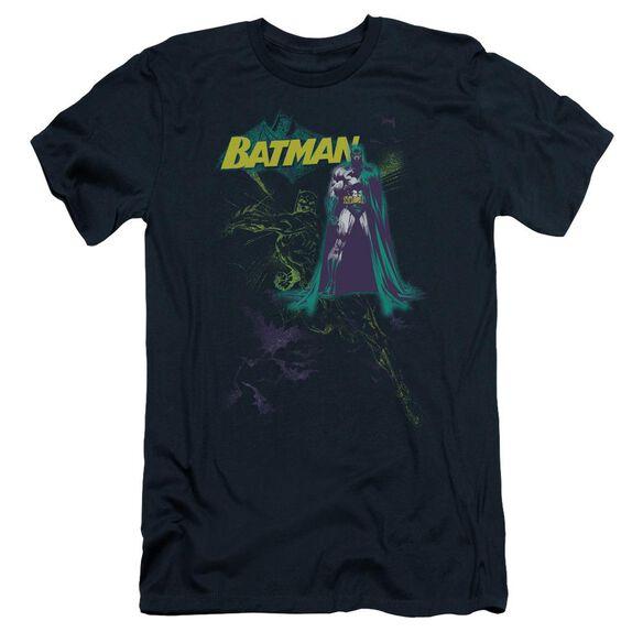 Batman Bat Spray Short Sleeve Adult T-Shirt