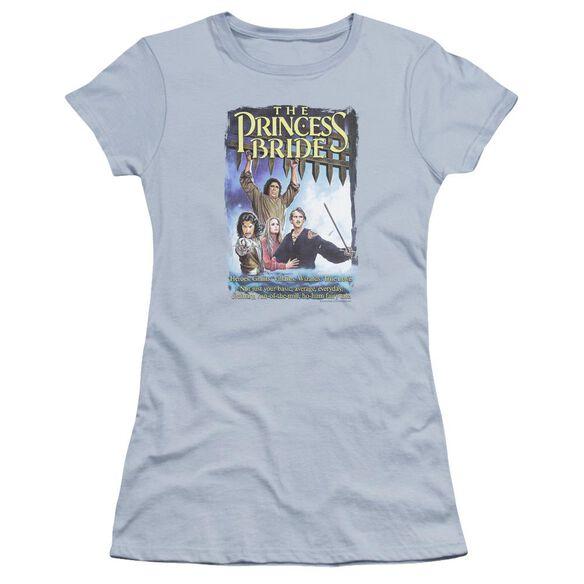 Princess Bride Alt Poster Premium Bella Junior Sheer Jersey Light
