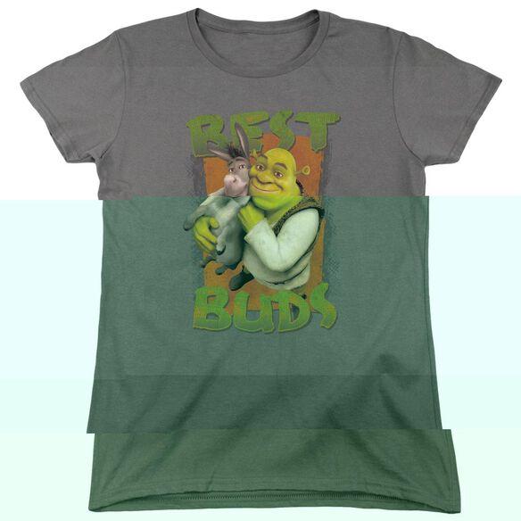 Shrek Buds Short Sleeve Womens Tee T-Shirt