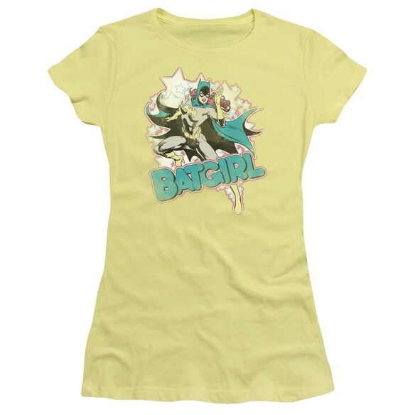 Dc I'm Batgirl Short Sleeve Junior Sheer T-Shirt