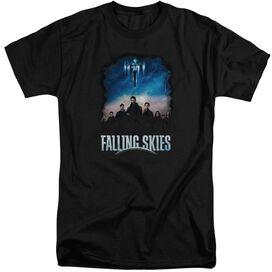 Falling Skies Main Players Short Sleeve Adult Tall T-Shirt