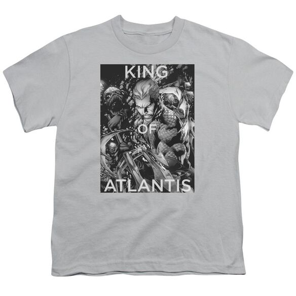 Jla King Of Atlantis Short Sleeve Youth T-Shirt