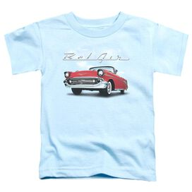 Chevrolet Bel Air Clouds Short Sleeve Toddler Tee Light Belue T-Shirt