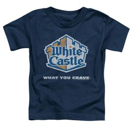 WHITE CASTLE DISTRESSED LOGO-S/S T-Shirt