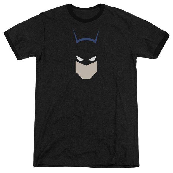 Batman Bat Head Adult Heather Ringer