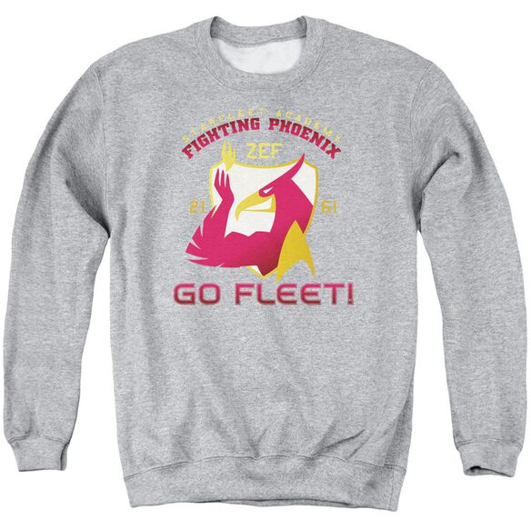 Star Trek Fighting Phoenix Adult Crewneck Sweatshirt Athletic