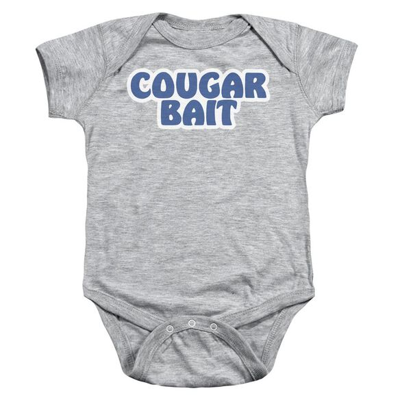 Cougar Bait Infant Snapsuit Athletic Heather Md
